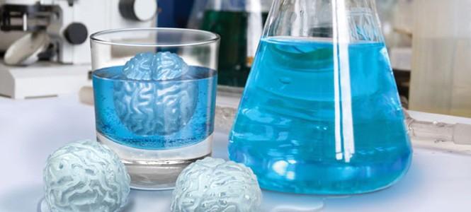 Formas de gelo diferentes
