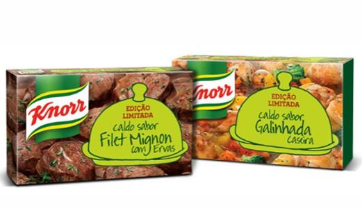 Novos caldos Knorr