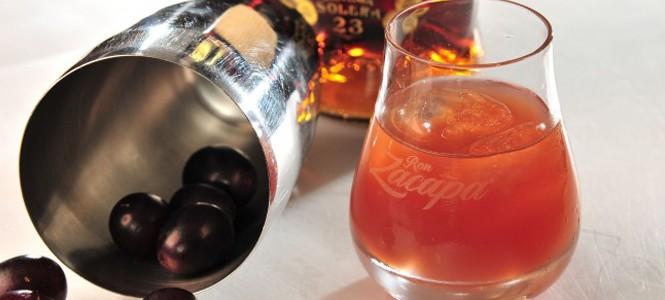 Drink refrescante de rum