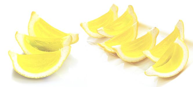 Jell-O Shots em limões