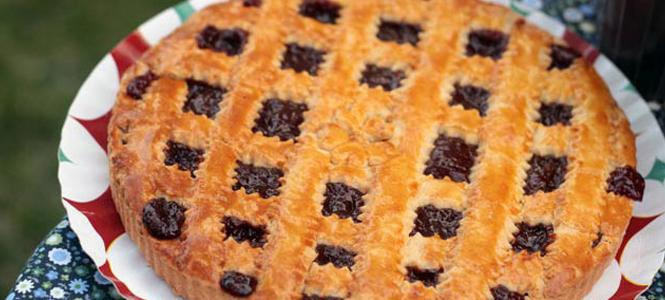 Torta de goiabada