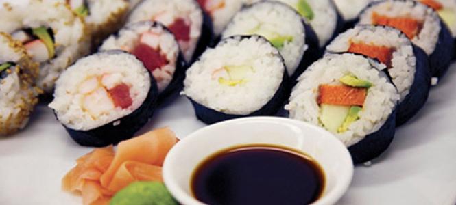 Máquina de fazer sushi