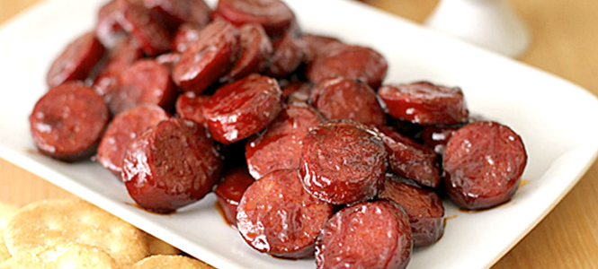 Linguiça ao guaraná