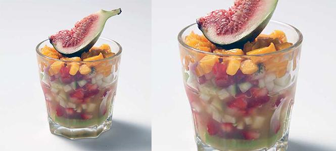 Verrine de frutas