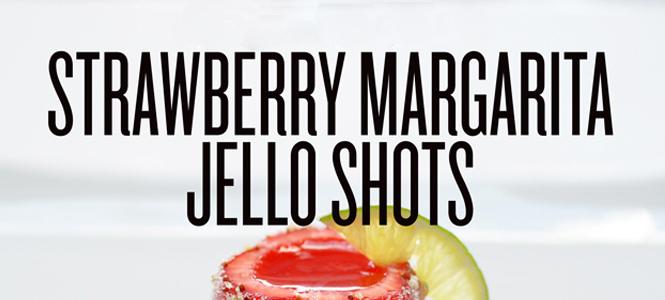 """Strawgarita"" Jello shots"