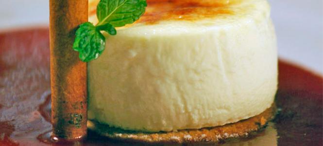 Cheesecake com goiaba