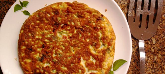 "Omelete de ""Miojo"""